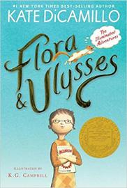 Newbery 수상작 Flora & Ulysses : The Illuminated Adventures (리딩레벨 4.3↑)