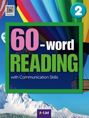 60-word READING 2 SB (WB+MP3 CD+단어/듣기 노트) : with Communication Skills