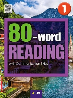 80-word READING 1 SB (WB+MP3 CD+단어/듣기 노트) : with Communication Skills