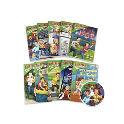 Ballpark Mysteries #1~10 (Book+MP3 CD) Set