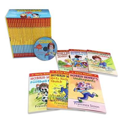 Horrid Henry Early Reader (Book+mp3 CD) 25종 세트 (컬러 얼리 챕터북)