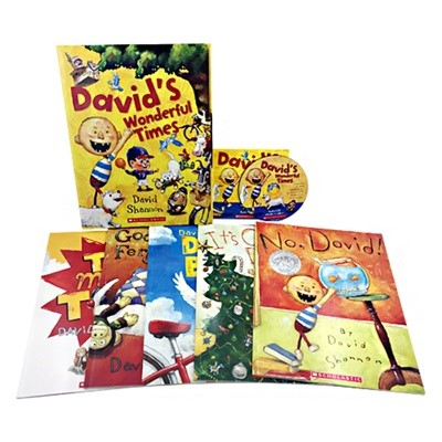David's Wonderful Times (5 Books + 1 Audio CD)