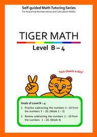 Tiger Math Level B-4