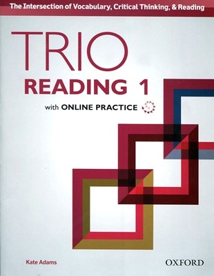 Trio Reading  1 SB with Online Practice