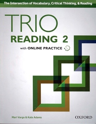 Trio Reading  2 SB with Online Practice