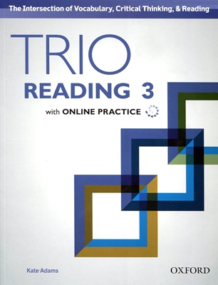Trio Reading  3 SB with Online Practice