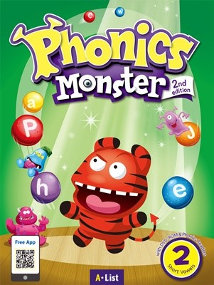 Phonics Monster 2 Student's Book (with Readers & DVD-ROM/MP3 CD) [2nd Edition]