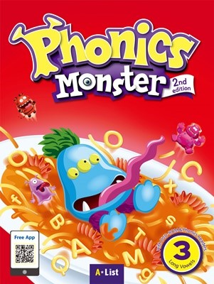 Phonics Monster 3 Student's Book (with Readers & DVD-ROM/MP3 CD) [2nd Edition]