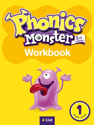 Phonics Monster 1 Workbook [2nd Edition]