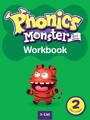 Phonics Monster 2 Workbook [2nd Edition]