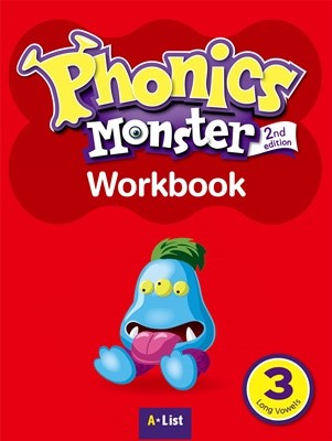 Phonics Monster 3 Workbook [2nd Edition]