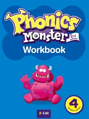 Phonics Monster 4 Workbook [2nd Edition]