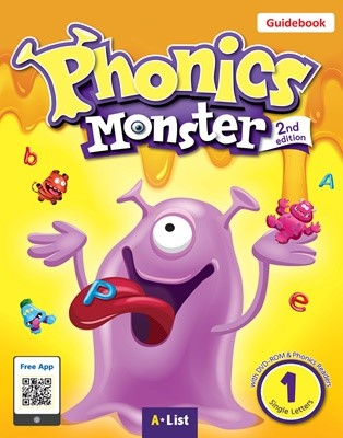 Phonics Monster 1 Guidebook (with Readers & DVD-ROM/Teacher's Resource CD) [2nd Edition]