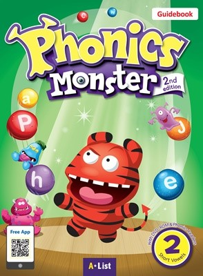 Phonics Monster 2 Guidebook (with Readers & DVD-ROM/Teacher's Resource CD) [2nd Edition]