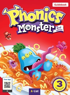 Phonics Monster 3 Guidebook (with Readers & DVD-ROM/Teacher's Resource CD) [2nd Edition]