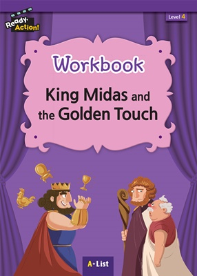 Ready Action 4 King Midas and the Golden Touch Workbook [2nd Edition]