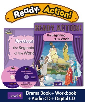 Ready Action 4 The Beginning of the World (SB+WB+Audio/Digital CD pack) [2nd Edition]