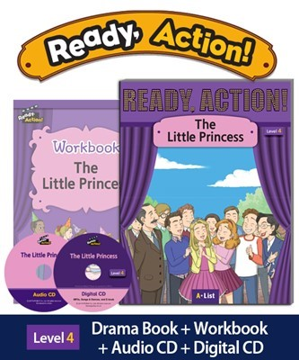 Ready Action 4 The Little Princess (SB+WB+Audio/Digital CD pack) [2nd Edition]