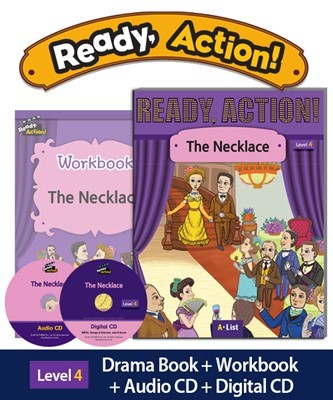 Ready Action 4 The Necklace (SB+WB+Audio/Digital CD pack) [2nd Edition]