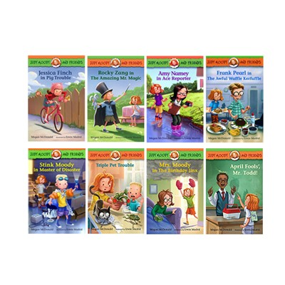 Judy Moody and Friends #1-8 Set