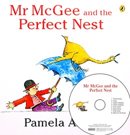 My First Literacy 2-01 Mr. McGee and the Perfect Nest (Book+ActivityBook+CD)