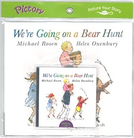 Pictory Set We're Going on a Bear Hunt (Paperback+Audio CD)