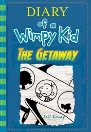 Diary of a Wimpy Kid #12: The Getaway (Hardcover)