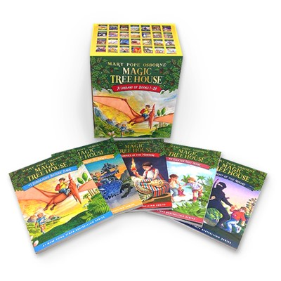[행사]MTH:Magic Tree House Boxed Set (PB 1~28) (New)