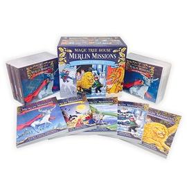 Magic Tree House Merlin Missions Boxset (PB 1~25)