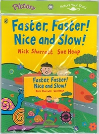 Pictory Set (Book+CD)  Pre-Schooler-29(HCD) / Faster, Faster! Nice and