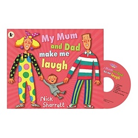 Pictory Set (Book+CD)  1-47 / My Mum and Dad Make Me Laugh