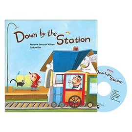 Pictory Set (Book+CD)  마더구스 1-02 / Down by the Station