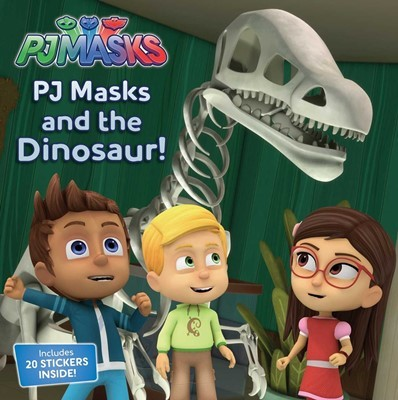 PJ Masks: PJ Masks and the Dinosaur! (Includes 20 STICKERS INSIDE!)