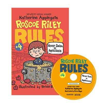 Roscoe Riley Rules #4: Never Swim in Applesauce (Book+CD) [2nd Edition]