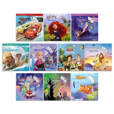 디즈니 Read-Along Storybook and CD 10종 세트