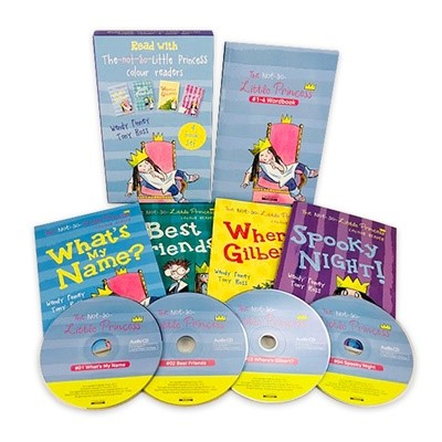 The Not so Little Princess(Book+CD) 4종 SET
