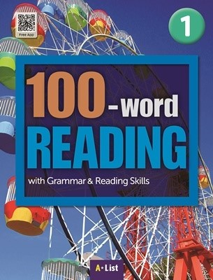 100-word READING 1 Student's Book with Work Book (단어/영작/듣기 노트, MP3 CD) : with Grammar & Reading Skills