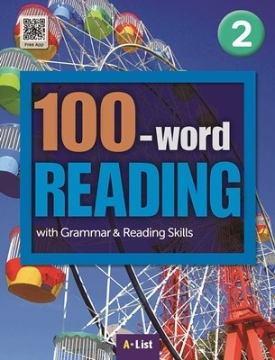 100-word READING 2 Student's Book with Work Book (단어/영작/듣기 노트, MP3 CD) : with Grammar & Reading Skills