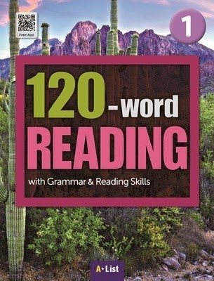 120-word READING 1 Student's Book with Work Book (단어/영작/듣기 노트, MP3 CD) : with Grammar & Reading Skills