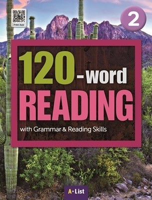 120-word READING 2 Student's Book with Work Book (단어/영작/듣기 노트, MP3 CD) : with Grammar & Reading Skills