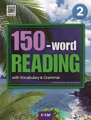 150-word READING 2 Student's Book with Work Book (MP3 CD) : with Vocabulary & Grammar