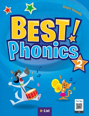 Best Phonics 2: Short Vowels (Student Book, DVD-ROM, MP3 CD, Readers)