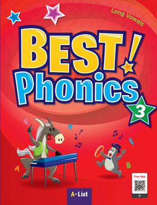 Best Phonics 3: Long Vowels (Student Book, DVD-ROM, MP3 CD, Readers)