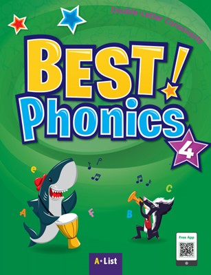 Best Phonics 4: Double-Letter Consonants (Student Book, DVD-ROM, MP3 CD, Readers)