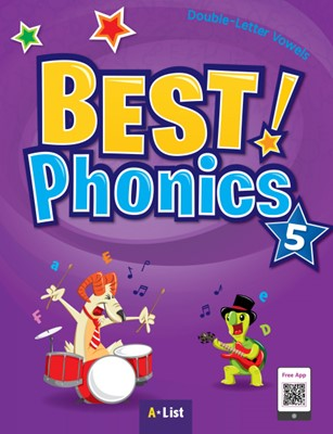Best Phonics 5: Double-Letter Vowels (Student Book, DVD-ROM, MP3 CD, Readers)