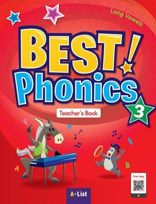 Best Phonics 3: Long Vowels (Teacher's Book, DVD-ROM, Teacher's Resource CD, Readers)