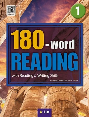 180-word READING 1 Student's Book (with WB, MP3 CD) : with Reading & Writing Skills