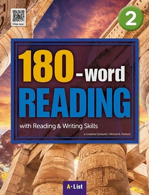 180-word READING 2 Student's Book (with WB, MP3 CD) : with Reading & Writing Skills