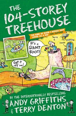 The 104-Storey Treehouse (PaperBack, 영국판)