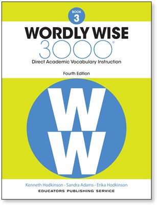 EPS-Wordly Wise 3000: Book 03 [4th Edition]